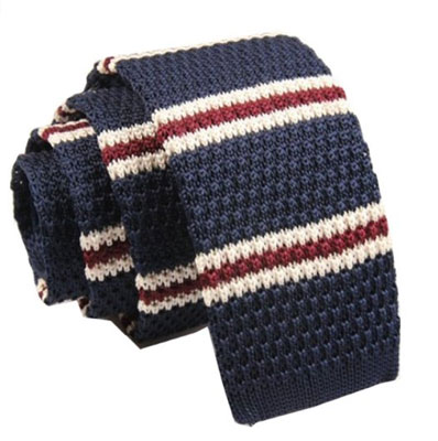 Budget option: Vintage-style knitted ties at Amazon