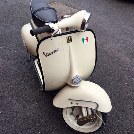 eBay watch: 1964 Vespa VBB scooter