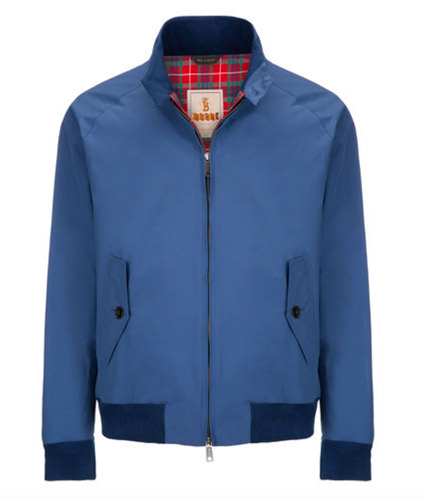 Two new colours now available for the Baracuta G9 Harrington jacket