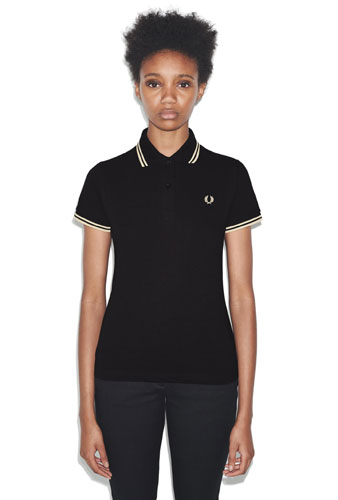 Mod classic: G12 Made in England Fred Perry polo shirt for women