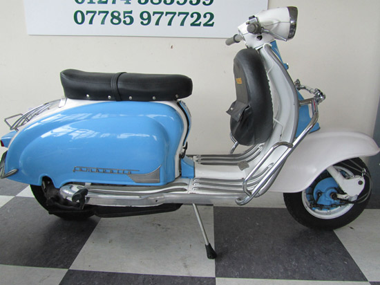 eBay watch: 1965 Lambretta Li150 scooter
