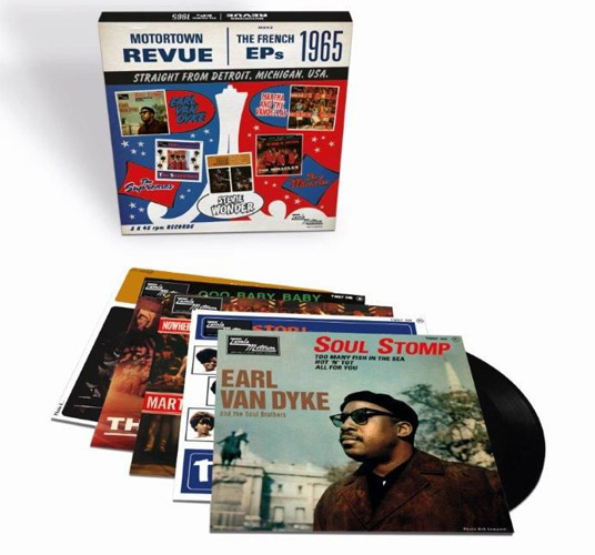 Motortown Revue - The French EPs 1965 7-inch box set