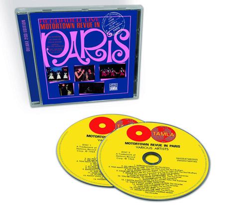 Motown's Motortown Revue In Paris returns on CD and triple vinyl