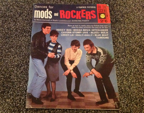 1960s Dances For Mods and Rockers magazine