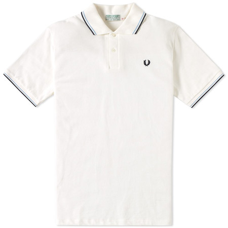 The original remade: Fred Perry 1953 pique twin tipped polo shirt
