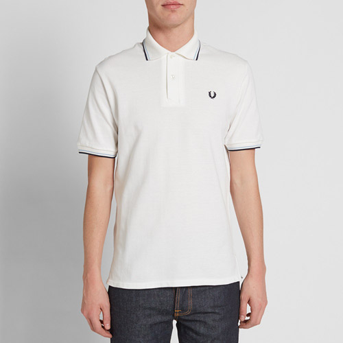 Fred Perry 1953 pique twin tipped polo shirt