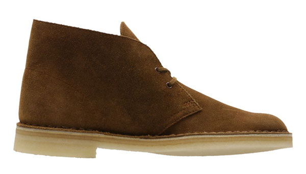 New stock of Desert Boots at the Clarks Outlet Store
