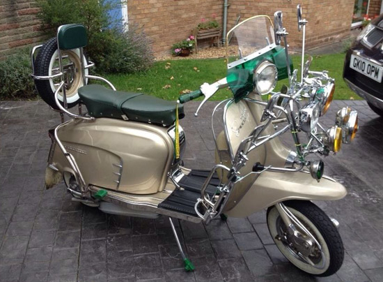eBay watch: 1965 Lambretta Golden Special