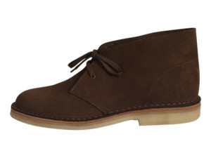 Limited edition Hutton desert boots in Havana Sand