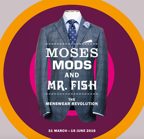 Moses, Mods and Mr Fish exhibition in London