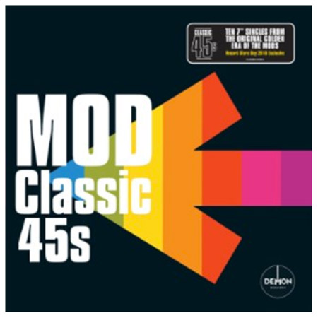 Full details: Mod Classic 45s Box Set for Record Store Day