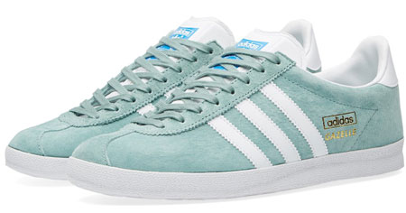 Adidas Gazelle OG trainers reissue in legend green