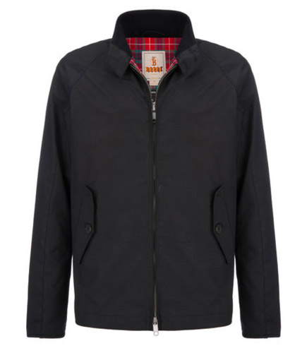Baracuta introduces the D4 - the Harrington for two wheels