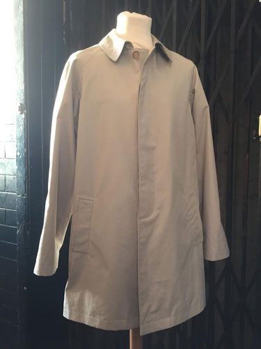 1966 Harry Palmer raincoat by Lancashire Pike