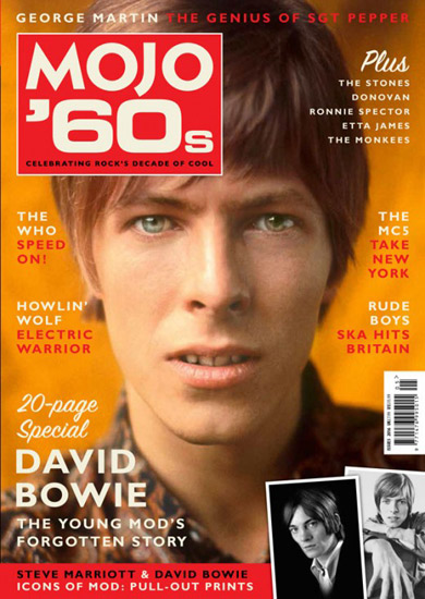 Mojo 60s magazine now on the shelves