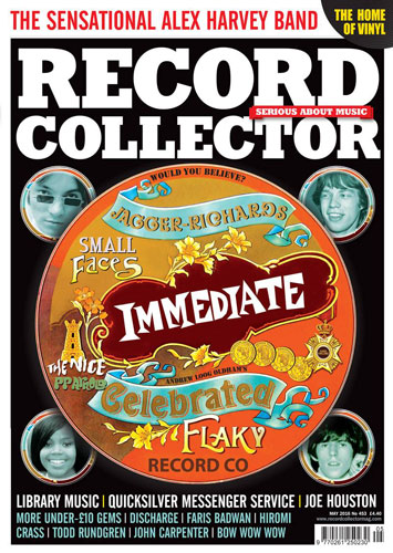 Immediate Records features in the latest Record Collector