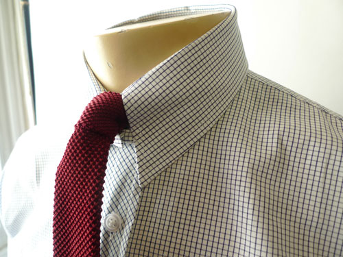 Vintage-style tab collar shirts at Jump The Gun