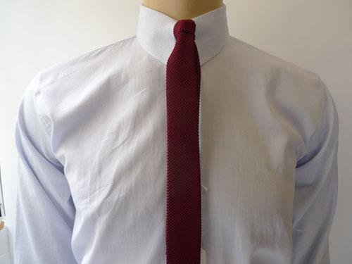 Vintage-style tab collar shirts at Jump The Gun