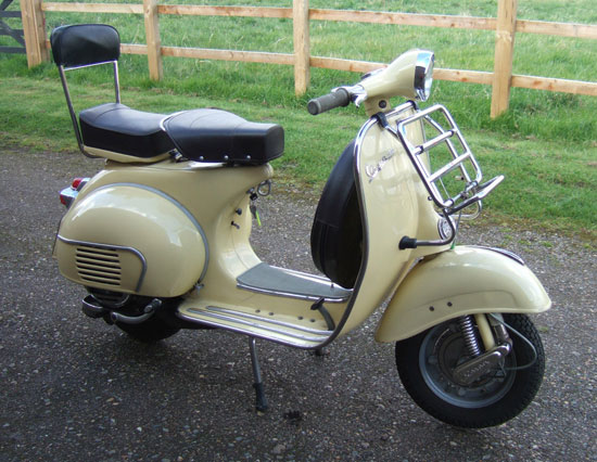 eBay watch: 1965 Vespa 150 VBB