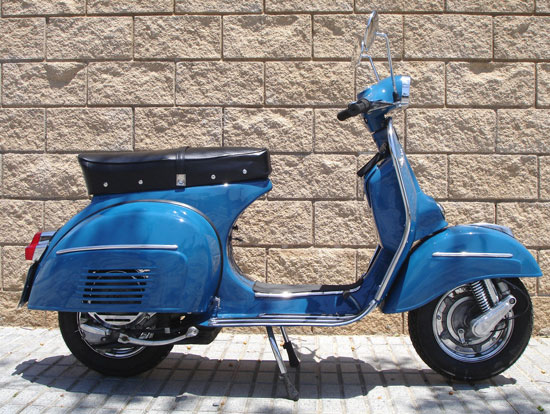Fully restored 1969 Spanish Vespa 160