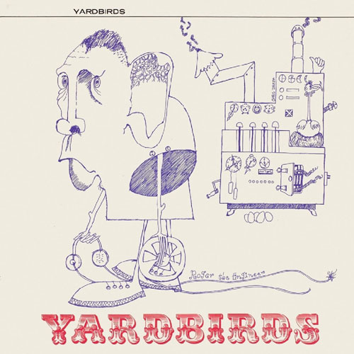 The Yardbirds - Roger The Engineer 50th anniversary CD and vinyl reissue