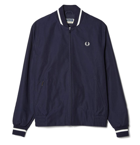 A classic returns: Fred Perry Reissues Made in England Tennis Bomber Jacket