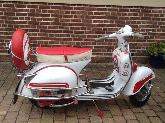 1962 Vespa GS160 Mk I scooter