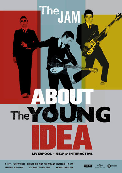 The Jam: About The Young Idea Exhibition moves to Liverpool for last UK appearance