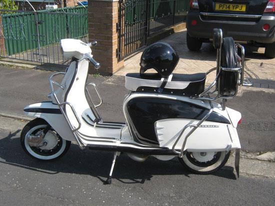 Italian 1966 Lambretta LI 125 Special scooter