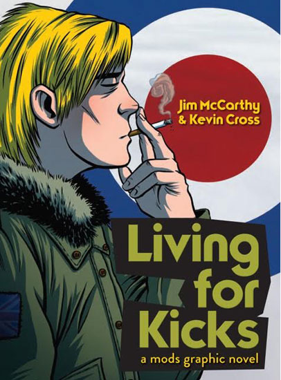 Interview: Jim McCarthy talks the Living For Kicks and the Keith Moon graphic novels