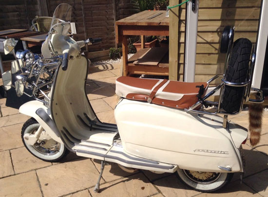 eBay watch: Restored 1964 Lambretta Li 150 scooter