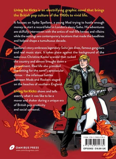 Jim McCarthy talks the Living For Kicks and the Keith Moon graphic novels