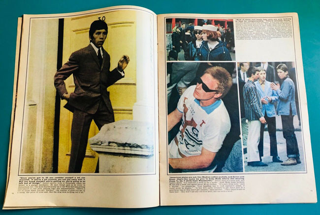 Sunday Times Changing Faces Mods issue on eBay