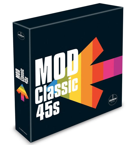 Mod Classic 45s box set gets a full release by Demon