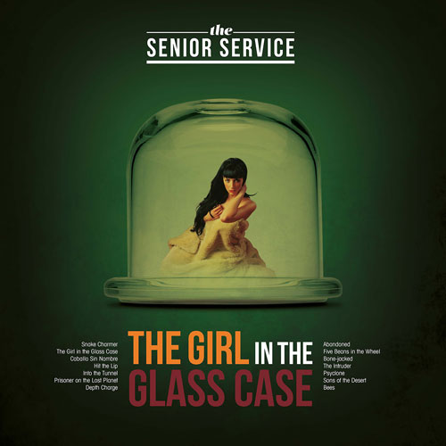 The Senior Service - The Girl In The Glass Case album plus launch gig