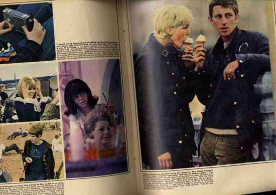 Changing Faces mods issue of the Sunday Times from 1964