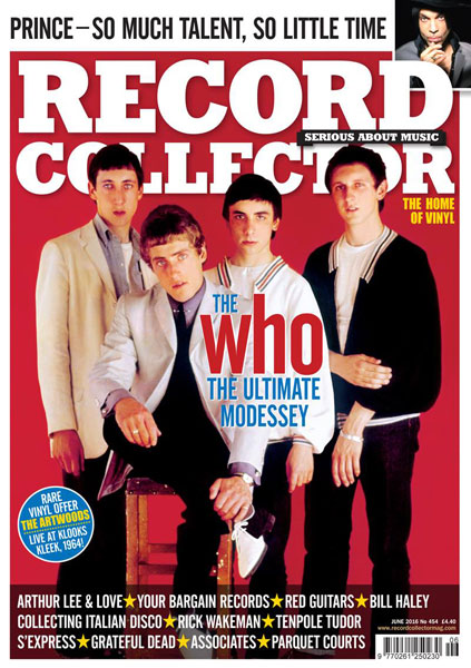 The Who heads up the new issue of Record Collector