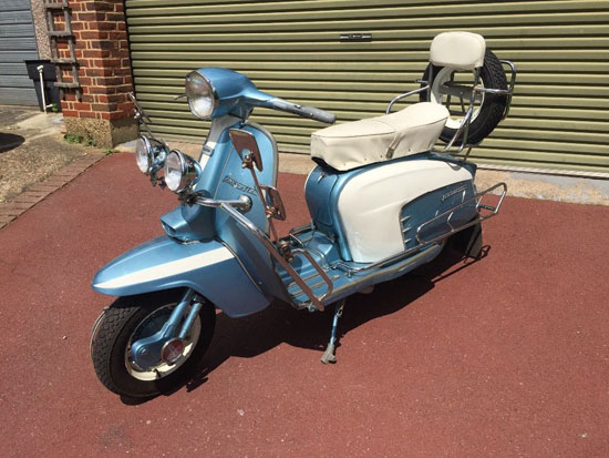 eBay watch: 1969 Lambretta Li 125 Special scooter