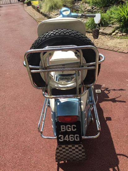 1969 Lambretta Li 125 Special scooter