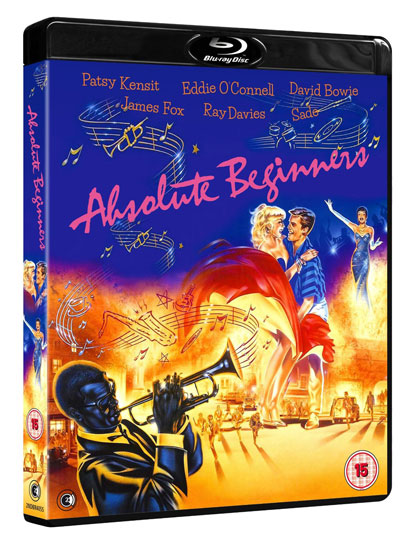 Coming soon: Absolute Beginners: 30th Anniversary Edition on Blu-ray