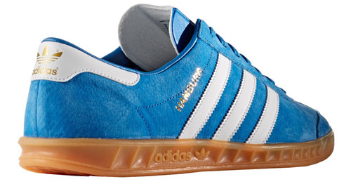 Adidas Hamburg trainers return in black and blue suede options