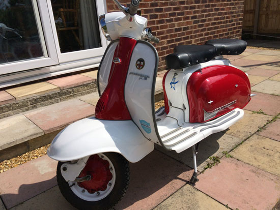 1961 Lambretta Li 125 Series 2 scooter
