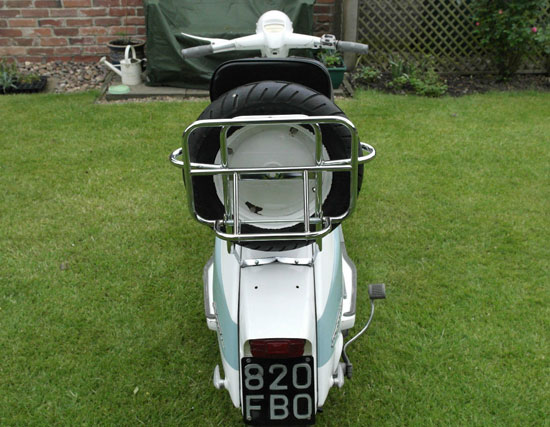 1963 Lambretta Li 150 scooter with original bill of sale