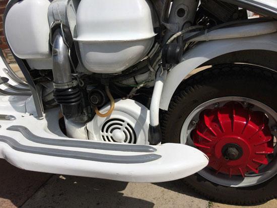 1961 Lambretta Li 125 Series 2 scooter