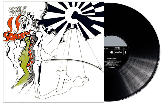 S.F. Sorrow by The Pretty Things reissued on vinyl with original UK artwork