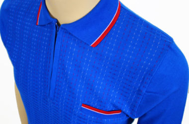 1960s-style Aertex polo shirts exclusive to Jump The Gun