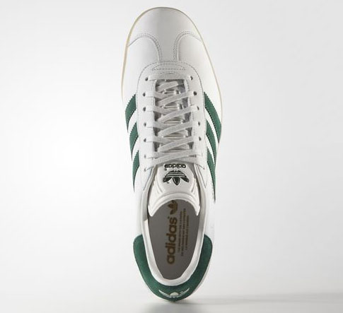Adidas Gazelle trainers back in two leather finishes