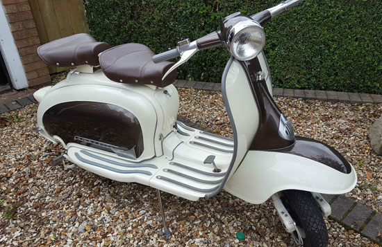 eBay watch: 1960 Italian-made Lambretta Li 125 scooter