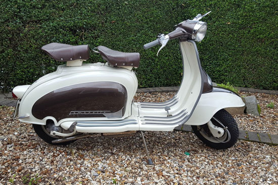 1960 Italian-made Lambretta Li 125 scooter