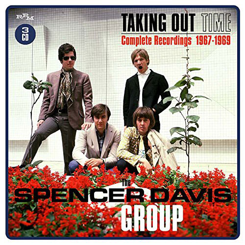 Spencer Davis Group Taking Time Out Complete Recordings 1967-1969 box set (RPM)